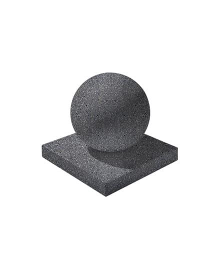 Ландшафтный элемент ВЫБОР ШАР-1 d=600 Черный Мозаичный бетон