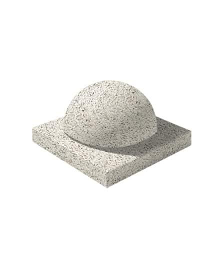 Ландшафтный элемент ВЫБОР ПОЛУШАР d=600 С пигментом Гранит