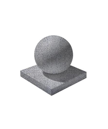 Ландшафтный элемент ВЫБОР ШАР-1 d=600 Серый Мозаичный бетон