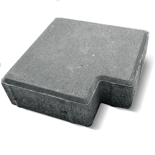 Тротуарная плитка Ландшафт Квадрат Z 60 мм