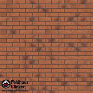 Клинкерная плитка Feldhaus Klinker Classic R228 terracota rustico carbo