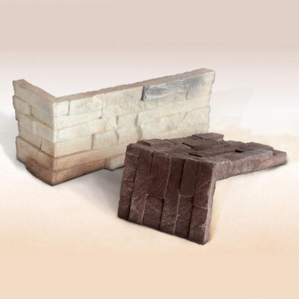 Искусственный облицовочный камень EcoStone Альберта Угловой элемент