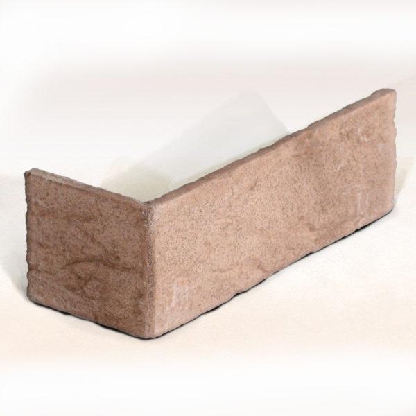 Искусственный облицовочный кирпич EcoStone Сиетл угловой элемент