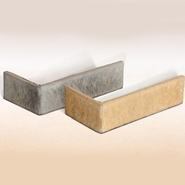 Искусственный облицовочный кирпич EcoStone Ванкувер угловой элемент