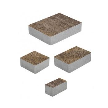 Тротуарные плиты ВЫБОР Искусственный камень МЮНХЕН Б.2.Фсм.6 Доломит- комплект из 4 плит