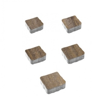 Тротуарные плиты ВЫБОР Искусственный камень АНТИК Б.3.А.6 Доломит- комплект из 5 плит