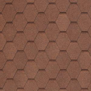 Tegola NOBIL TILE Вест светло-коричневый