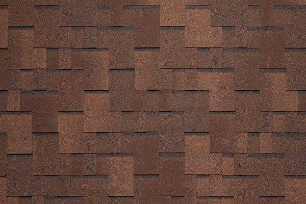Tegola NORDLAND Альпин коричневый с отливом