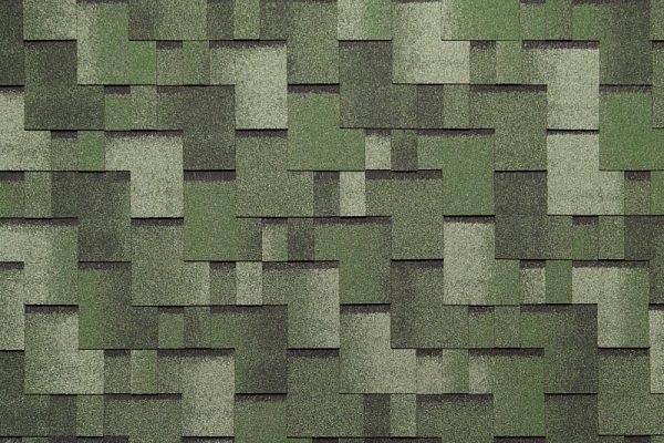Tegola NORDLAND Альпин зелёный с отливом