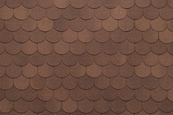 Tegola NORDLAND Антик коричневый с отливом