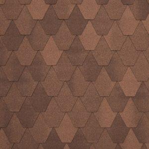 Tegola NORDLAND Лемех коричневый с отливом