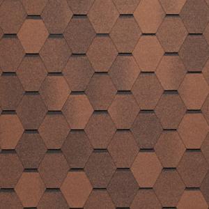 Tegola NORDLAND Нордик коричневый с отливом