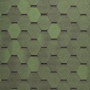 Tegola NORDLAND Нордик зелёный с отливом