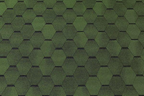 Tegola TOP SHINGL Смальто зелёный