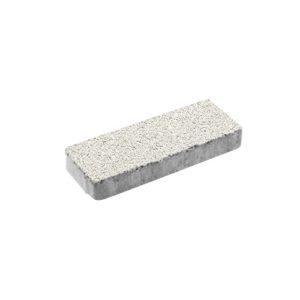 Тротуарная плитка ВЫБОР Гранит Паркет 600*200*80 мм Белый