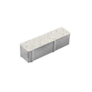 Тротуарная плитка ВЫБОР Гранит Паркет 360*80*80 мм Белый