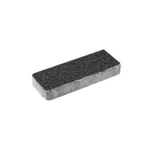 Тротуарная плитка ВЫБОР Гранит Паркет 600*200*80 мм Черный