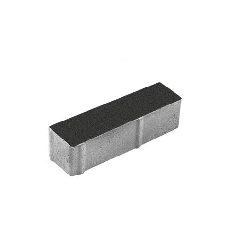 Тротуарная плитка ВЫБОР Гранит Паркет 360*80*80 мм Черный