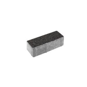 Тротуарная плитка ВЫБОР Гранит Паркет 180*60*60 мм Черный