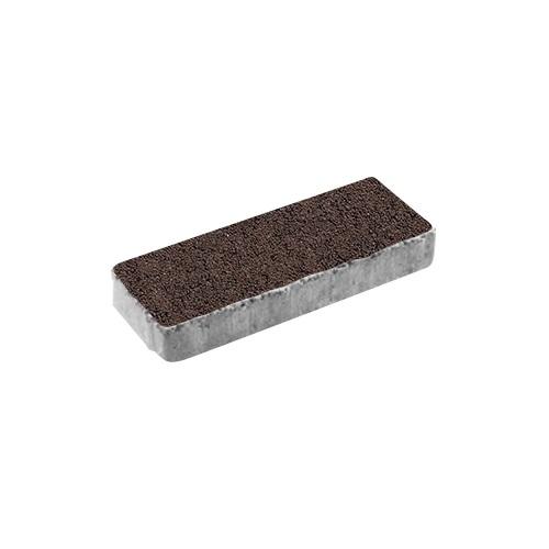 Тротуарная плитка ВЫБОР Гранит Паркет 600*200*80 мм Красный