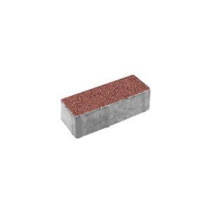 Тротуарная плитка ВЫБОР Гранит Паркет 180*60*60 мм Красный