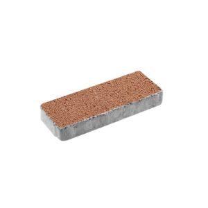 Тротуарная плитка ВЫБОР Гранит Паркет 600*200*80 мм Оранжевый