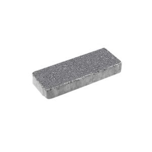 Тротуарная плитка ВЫБОР Гранит Паркет 600*200*80 мм Серый