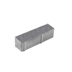 Тротуарная плитка ВЫБОР Гранит Паркет 360*80*80 мм Серый