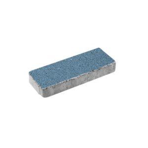 Тротуарная плитка ВЫБОР Гранит Паркет 600*200*80 мм Синий