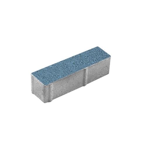 Тротуарная плитка ВЫБОР Гранит Паркет 360*80*80 мм Синий