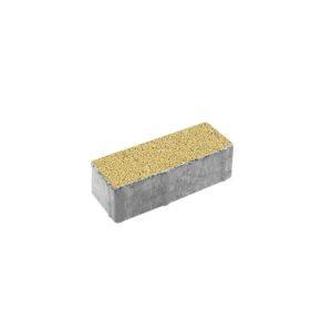 Тротуарная плитка ВЫБОР Гранит Паркет 180*60*60 мм Желтый