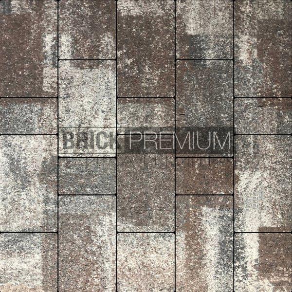 Тротуарная плитка Brick Premium Калипсо Кальцит гранит 65 мм