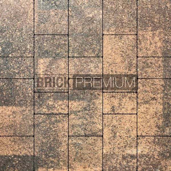 Тротуарная плитка Brick Premium Калипсо Клинкер гранит 65 мм