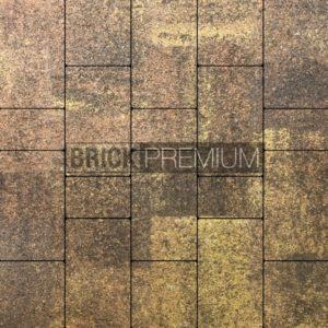Тротуарная плитка Brick Premium Калипсо Листопад гранит 65 мм