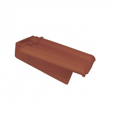 Керамическая черепица боковая левая Koramic Alegra 10 Copper Brown
