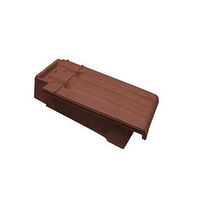 Керамическая черепица боковая левая Koramic Mondo 11 Copper Brown