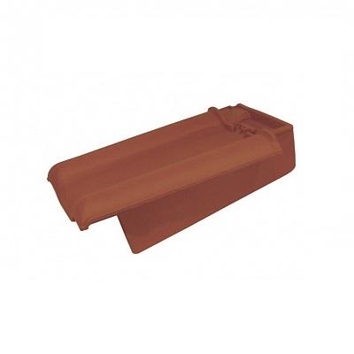 Керамическая черепица боковая правая Koramic Alegra 10 Copper Brown