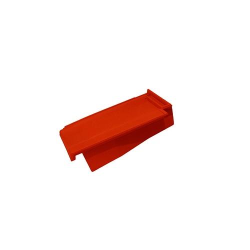 Керамическая черепица боковая правая Koramic Cosmo 11 Red Engobe