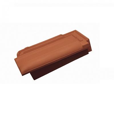 Керамическая черепица боковая правая Koramic Universo 14 Copper Brown