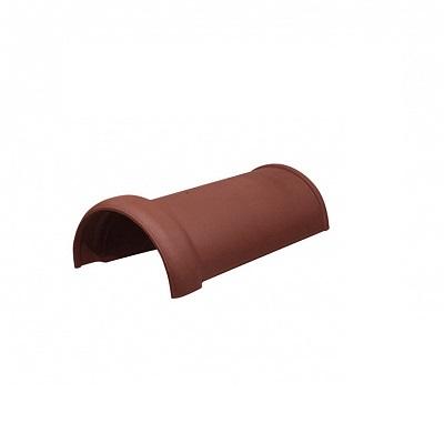 Керамическая черепица коньковая Koramic Alegra 10 Copper Brown