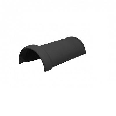 Керамическая черепица коньковая Koramic Alegra 10 Noble Black