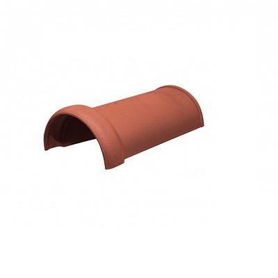Керамическая черепица коньковая Koramic Alegra 10 Red Engobe