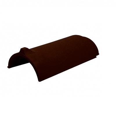 Керамическая черепица коньковая Koramic Alegra 15 Walnut