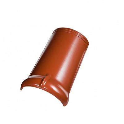 Керамическая черепица коньковая Koramic Alegra 9 Noble Brick-Red