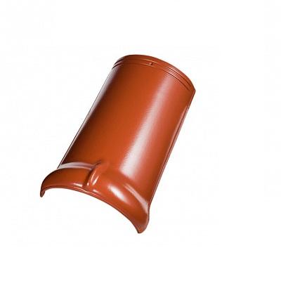 Керамическая черепица коньковая Koramic Alegra 9 Red Engobe