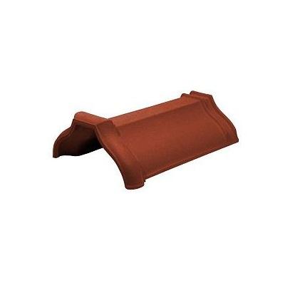 Керамическая черепица коньковая Koramic Cosmo 11 Copper Brown