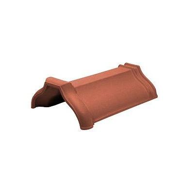 Керамическая черепица коньковая Koramic Cosmo 11 Natural Red