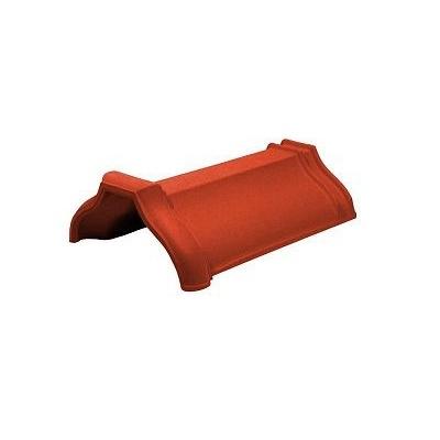 Керамическая черепица коньковая Koramic Cosmo 11 Red Engobe