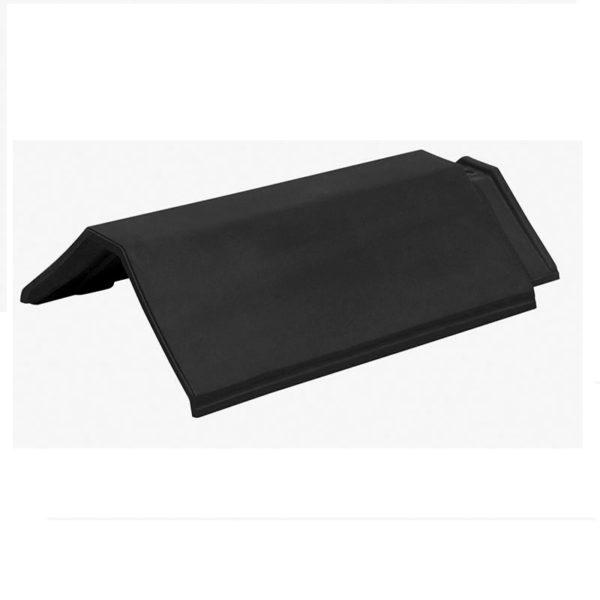 Керамическая черепица коньковая Koramic Plano 11 Black