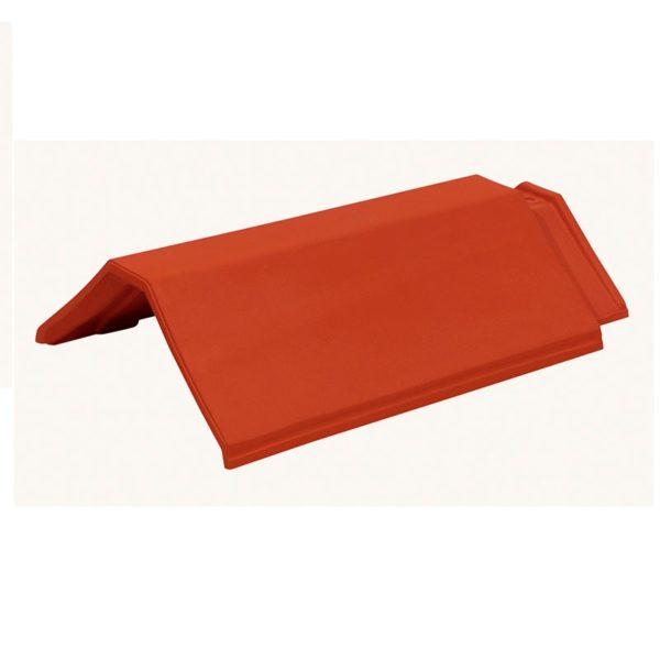 Керамическая черепица коньковая Koramic Plano 11 Red Engobe